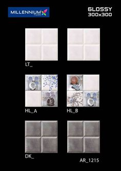 """AR_1215 - Millennium Tiles 300x300mm (12x12) Digital Ceramic Glossy #WallTiles  - LT_ - HL_A - HL_B - DK_  - 3D Technology: Our physical environment is three-dimensional and we see the world in a 3D way, you will have a feeling of depth with our 3D visual experience. - HD Technology: High-definition technology (HDT) provides a resolution that is substantially higher that of standard-definition tiles. - CF Technology: """"CF"""" stands for """"Crystal Fortification"""" This technology is mainly used in…"""