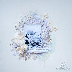 Le Monde d'Amélie Scrapbooking Ideas, Scrapbooks, Layouts, Walmart, Childhood, Frame, Christmas, Inspiration, Winter