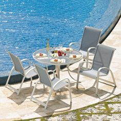 Telescope Casual Furniture 5 Piece Primera Outdoor Dining Set