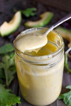 Creamy Lemon-Lime Avocado Salad Dressing Recipe