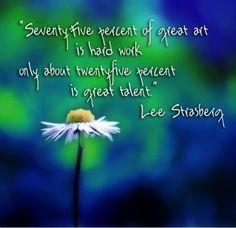 Lee Strasberg quote