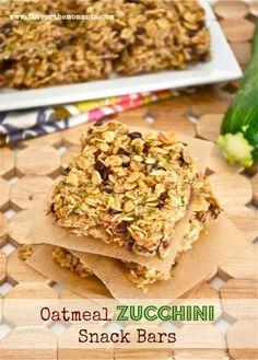 oatmeal zucchini snack bars