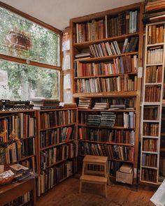 Book Aesthetic, Aesthetic Bedroom, Dream Library, Home Libraries, Book Nooks, Dream Rooms, My Dream Home, Future House, Light In The Dark