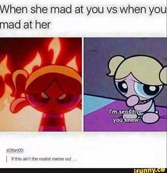 I love Powerpuff girls