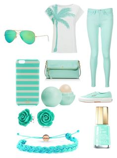 """""""Untitled #402"""" by salyjammal ❤ liked on Polyvore featuring Tommy Hilfiger, Superga, Tory Burch, Ray-Ban, Kate Spade, Bling Jewelry, Domo Beads, Mavala and Eos"""
