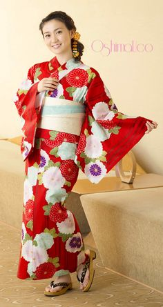 大島優子 浴衣3点セット 24-KM14-OU104set   浴衣屋さん.com 12,500 円