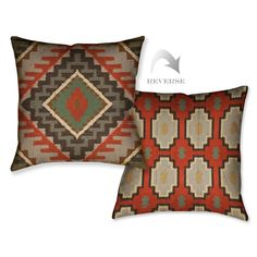 Rust Kilim Pillow