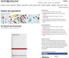 Suhrkamp Notizbuch #notebook #diary #stationery #notizbuch #tagebuch #papier #notizbuchblog