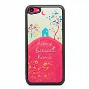 Sweet Home Pattern Hard Case voor iPhone 5C – EUR € 3.67