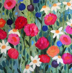 Introducing artist, Carrie Schmitt... | Flowerona