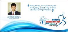 Tips for running a safe Marathon.