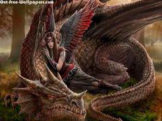 fanasty art | Angel And Dragon 3D & Digital Art Wallpaper - HD Wallpapers Download