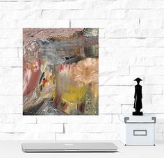 Abstract Painting Original Small Acrylic Painting by Jimarieart