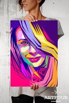 WPAP - Handmade Portrait