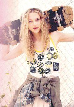 Skater girl fashion style :)