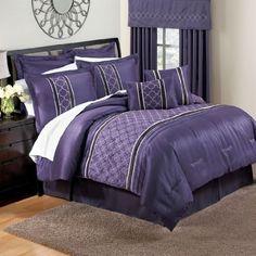 BrylaneHome Betty Multi-Piece Comforter Set (PURPLE,KING) by BrylaneHome, http://www.amazon.com/dp/B008ZCENBW/ref=cm_sw_r_pi_dp_Ztvrqb0NKS1NM
