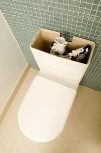 Mold and mildew fungus thrives in the moist environment of a toilet tank. With regular cleaning, mold growth is easily prevented or removed. But when the toilet tank has been. Cleaning Mold, Toilet Cleaning, Diy Cleaning Products, Cleaning Hacks, Cleaning Solutions, Bathroom Cleaning, Deep Cleaning, Spring Cleaning, Cleaning Supplies