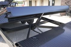 Tilt Bed Trailers - We can special order any size trailer to fit your needs! Tilt Trailer, Car Hauler Trailer, Work Trailer, Trailer Plans, Trailers, Lifted Cars, Amazing Cars, Drafting Desk, Bed