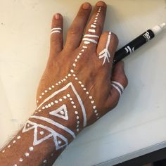 Image of Bullet tip Tribal Marker limited quantity Music Festival Makeup Bullet image limited Marker quantity tip Tribal Neon Face Paint, Tribal Face Paints, Tribal Body Paint, Cara Tribal, African Tribal Makeup, Pintura Tribal, African Face Paint, Music Festival Makeup, Festival Paint