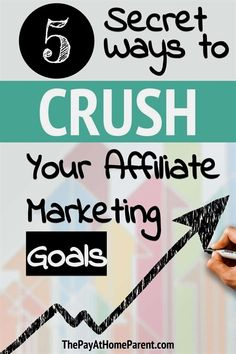 Affiliate marketing examples - affiliate marketing for beginners guide - includes an affiliate marketing course! Marketing Goals, Marketing Program, Digital Marketing Strategy, Business Marketing, Content Marketing, Online Business, Marketing Training, Business Tips, Marketing Strategies