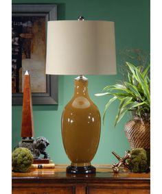 Honey Glazed Wildwood 46492 Simple Bottle 34 Inch Table Lamp - $333.50