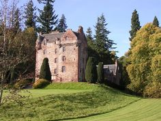 Castle Leod, ancestral home of the MacKenzie clan.