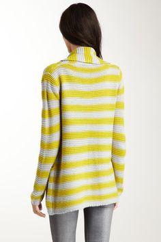 Vertigo  Stripe Long Sleeve Sweater