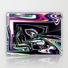 ON BLACK Laptop & iPad Skin by David  Gough - $25.00