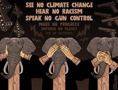 Cartoon: See no, hear no, speak no