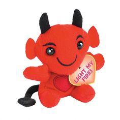 Plush+Valentine+Devils+-+OrientalTrading.com