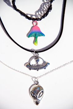 Necklaces - Far Out Trio Necklace Set