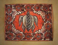 Tongan Tattoo, Tapas, Panel Wall Art, Papua New Guinea, Fabric Art, Cloths, Vintage World Maps, Folk, Textiles