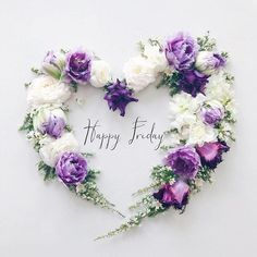 210 Likes, 14 Comments - Vicky Good Day Quotes, Its Friday Quotes, Instagram Spacers, Mardi Gras Wreath, Alphabet Design, Collage Vintage, Happy Birthday Quotes, Bunch Of Flowers, Flower Backgrounds