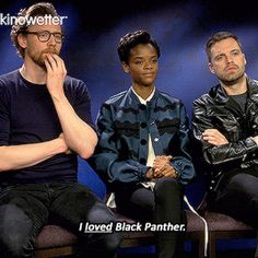 cheers-mrhiddleston:How much you were a fan of Black Panther?