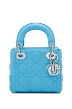 Christian Dior Mini Lady Dior Turchese - DIOR