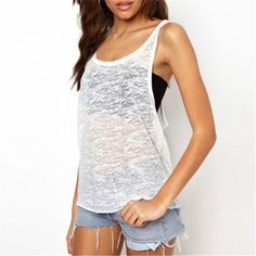 Summer New Fashion 2017 Women Fashion Simple Tank Tops Casual Sleeveless Seee-through Loose Vest Tops Female Plus Size Tank Tops //Price: $5.47 & FREE Shipping //     #trending    #love #TagsForLikes #TagsForLikesApp #TFLers #tweegram #photooftheday #20likes #amazing #smile #follow4follow #like4like #look #instalike #igers #picoftheday #food #instadaily #instafollow #followme #girl #iphoneonly #instagood #bestoftheday #instacool #instago #all_shots #follow #webstagram #colorful #style #swag…