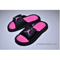 e7d059d6fabb89 Air Jordan Hydro 6 Sandals Black Pink Women Copuon