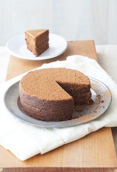 Chocolate Hazelnut Polenta Cake