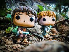 Frodo Baggins & Samwise Gamgee Tolkien, Funko Pop, Merry And Pippin, Samwise Gamgee, Frodo Baggins, O Hobbit, Pop Dolls, Heart For Kids, Draco Malfoy