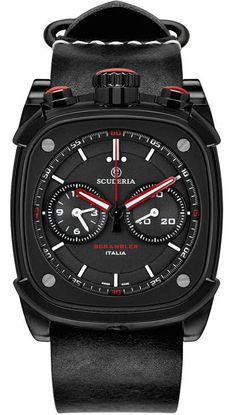 CT Scuderia Watch Scuderia Scrambler Chronograph Watch available to buy online from with free UK delivery. Field Watches, Sport Watches, Cool Watches, Men's Watches, Elegant Watches, Mens Gear, Luxury Watches For Men, Scrambler, Casio Watch