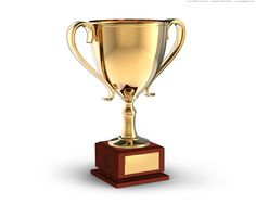 picture of a trophy | Gold trophy cup