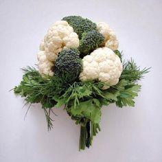 Букеты из овощей