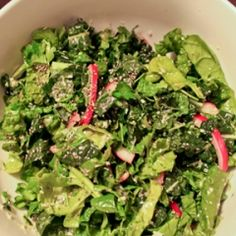 Kale & Spinach Salad