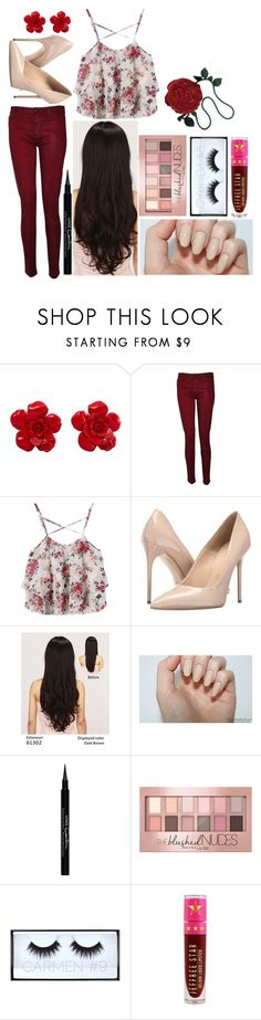 """""""Megan W: September 14, 2016"""" by disneyfreaks39 ❤ liked on Polyvore featuring Chanel, Hudson, Massimo Matteo, LeSalon, Givenchy, Maybelline, Huda Beauty, Jeffree Star and Emanuel Ungaro"""
