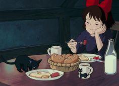 Studio Ghibli Art, Studio Ghibli Movies, Anime Films, Anime Characters, Totoro, Studio Ghibli Characters, Japon Illustration, Cartoon Profile Pics, Old Anime