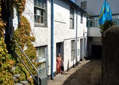 No 3 Portmeor Studio's St Ives.  Artist Roy Walker's studio until he died in 2001.