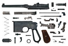 Gun Anatomy German Mauser C96