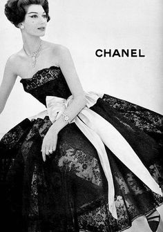 An Old Chanel Ad in the 50's