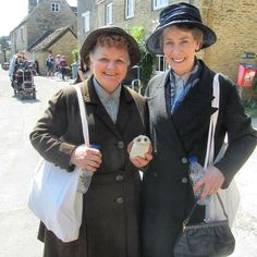 Season 6:  Mrs. Patmore and Mrs. Hughes