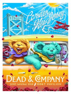Dead and Company Setlist (updated) song video Grateful Dead Wallpaper, Grateful Dead Poster, Grateful Dead Bears, Phil Lesh And Friends, Dead And Company, Trippy Wallpaper, Billy The Kids, Tour Posters, Concert Posters
